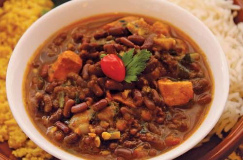 02 (salgados, arroz e grãos) Feijoada com Feijão Azuki (madhava)