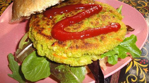 11 (salgados, vegans, Sanduíches) Bhima Burguer